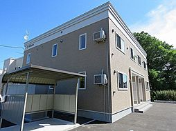 北海道札幌市北区西茨戸一条1丁目の賃貸アパートの外観