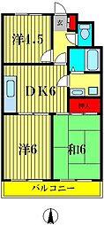 ロイヤルシャトレー[1階]の間取り