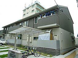 愛知県名古屋市名東区引山3丁目の賃貸アパートの外観