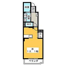 ミモザ フィオーレ[1階]の間取り
