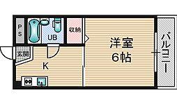 ビスタ新庄ハイツ3[4階]の間取り
