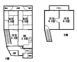 清水五条駅 2,280万円