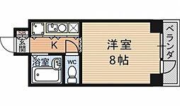 第24長栄アビタシオン[405号室号室]の間取り
