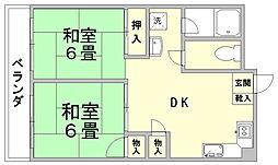 第6よしみビル[8階]の間取り