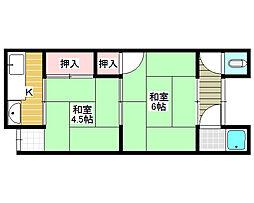 [一戸建] 大阪府堺市北区蔵前町3丁 の賃貸【/】の間取り