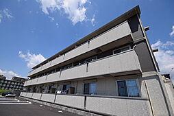 栃木県宇都宮市簗瀬町の賃貸アパートの外観