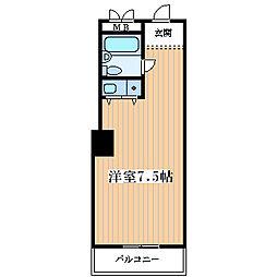 ダイアパレス塚本[2階]の間取り