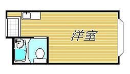 コンフォート神楽坂[3階]の間取り