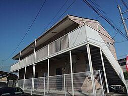埼玉県春日部市下蛭田の賃貸アパートの外観