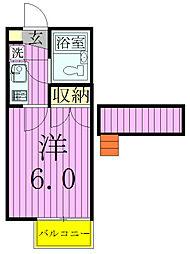 ジュネパレス松戸第703[104号室]の間取り
