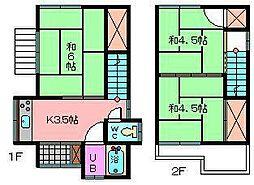 [一戸建] 埼玉県さいたま市南区大谷口 の賃貸【/】の間取り