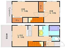セルアージュI[2階]の間取り