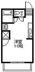 赤煉瓦館[105号室]の間取り