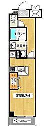 レスポワール東戸塚[2階]の間取り