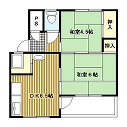緑ヶ丘団地[4204-418号室]の間取り