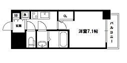 S-RESIDENCE新大阪駅前[15階]の間取り