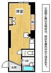 福岡県北九州市八幡西区本城3丁目の賃貸マンションの間取り