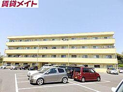 亀山マンションA棟[1階]の外観