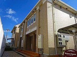 徳島県徳島市国府町日開の賃貸アパートの外観