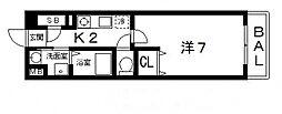 インノバーレ桜ヶ丘[203号室号室]の間取り