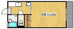 MIIスターマンション[204号室]の間取り