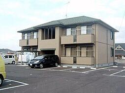 広島県福山市神辺町字平野の賃貸アパートの外観