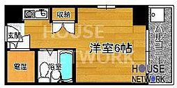コスモリード京都今出川 (旧:サンハイツ星の子)[307号室号室]の間取り