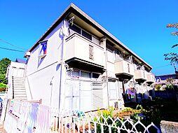 東京都練馬区石神井台3丁目の賃貸アパートの外観