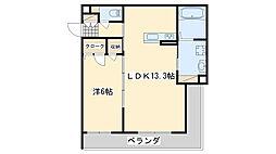 仮称泉佐野市高松東プロジェクト[1階]の間取り