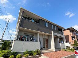 千葉県成田市はなのき台2丁目の賃貸アパートの外観