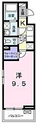 ecLore II[2階]の間取り