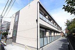 東京都足立区島根1丁目の賃貸アパートの外観