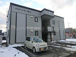 北海道札幌市北区あいの里二条3丁目の賃貸アパートの外観