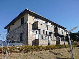 レジデンス黒沢台C棟[2階]の外観