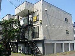 北海道札幌市東区北三十五条東13丁目の賃貸アパートの外観