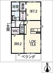 仮)D−room豊田市寺部[3階]の間取り