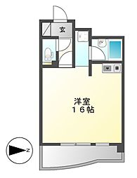 X−OVER21覚王山[7階]の間取り