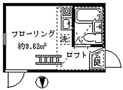 ライフピアポロネーズ[2階]の間取り