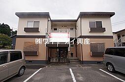 コーポ万寿東C棟[202号室]の外観