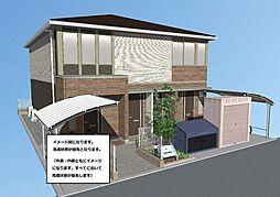 (仮)FALDA.T海田新築アパート[2階]の外観