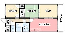甲子園GH[402号室]の間取り