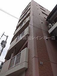 香川県高松市西内町の賃貸マンションの外観