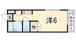 K`s PLACE[301号室]の間取り