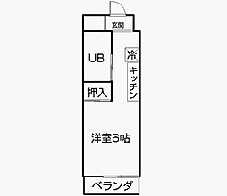 レジデンス掛川[3階]の間取り