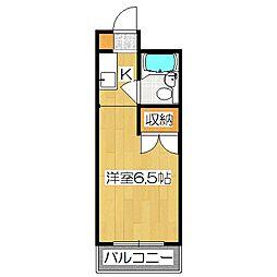 和晃第二ハイツ[2階]の間取り