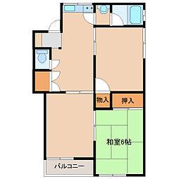 第3柳澤コーポ[201号室]の間取り