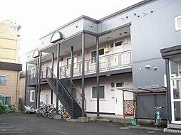 北海道札幌市白石区栄通1丁目の賃貸アパートの外観