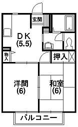 レジデンス有玉[1階]の間取り