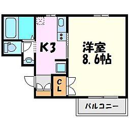 フォーラム西宮・平松町[2階]の間取り