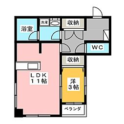 ONOビル[2階]の間取り